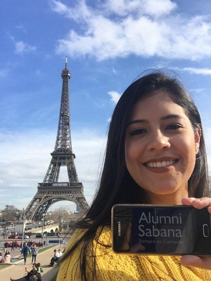 Carolina Correa, alumni Sabana