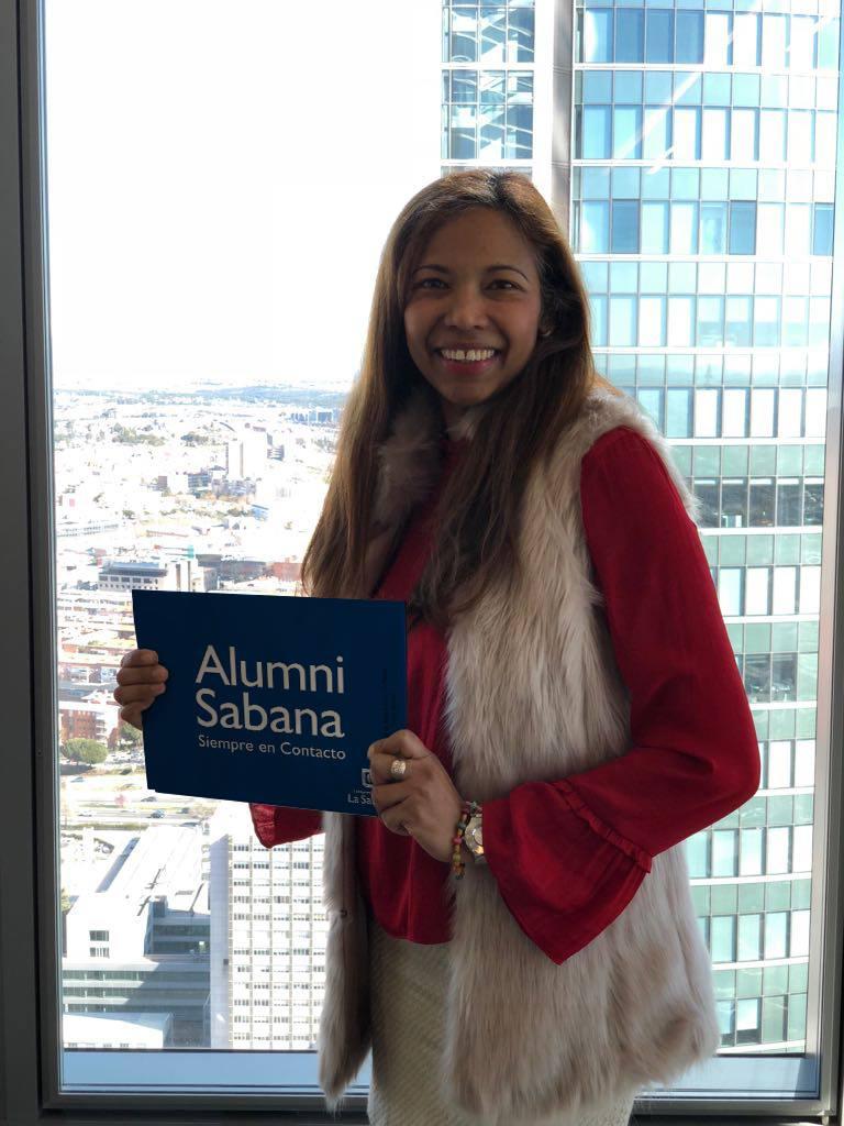 Cristina Murgas, graduada Comunicación Alumni Sabana