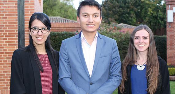 Estudiantes ganan beca Joven Talento de la Fundación CEIBA y Gobernación de Cundinamarca