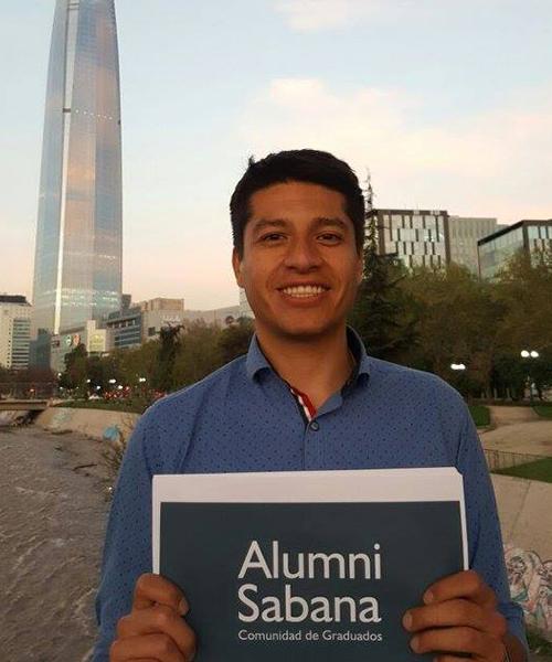 Javier Sarmiento se graduó de Administración & Servicio Unisabana