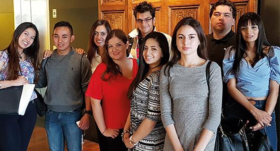 La Misión Académica en Argentina tenía por objetivo que los estudiantes ampliaran sus experiencias conociendo la cultura de ese país.